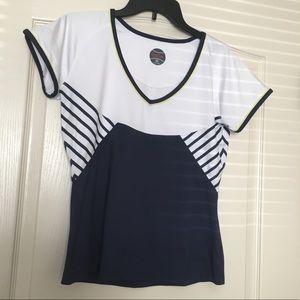 🌸Women's Athletic Tennis Cap Sleeve Bollé Top🌸